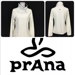 Prana Fleece Jacket Plush Pullover Women's Size L